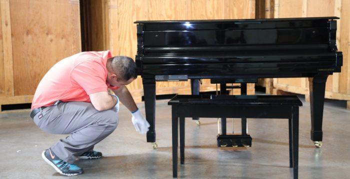Piano Storage and Delivery Services | Plush Delicate Installation