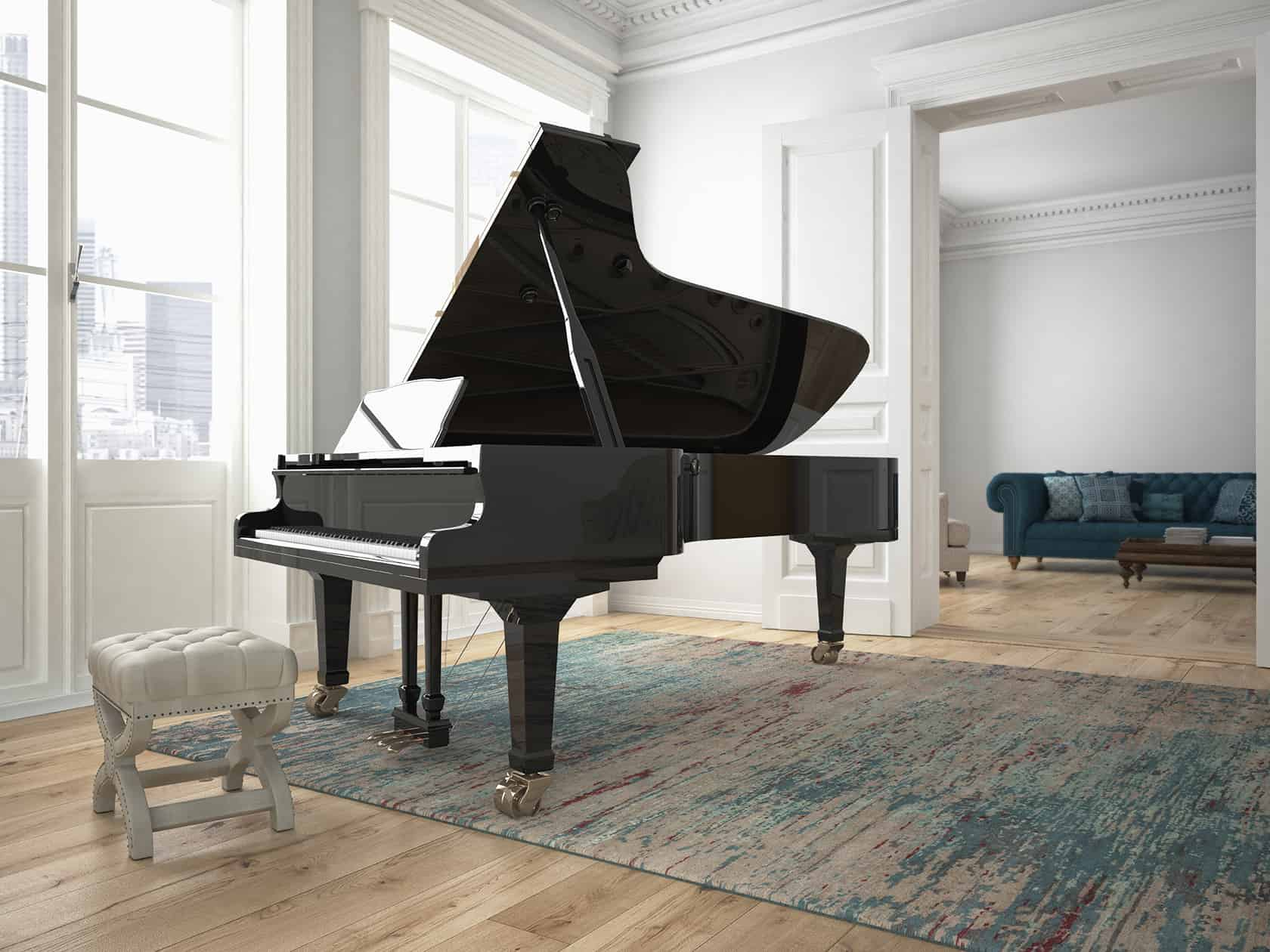 Piano Delivery and Installation | Plush Delicate Installation